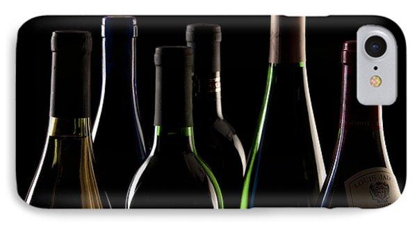 Wine Bottles Phone Case by Tom Mc Nemar