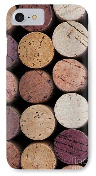 Wine Corks 1 Phone Case by Jane Rix
