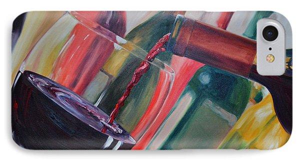 Wine Pour IIi Phone Case by Donna Tuten