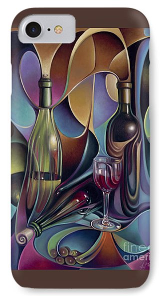 Wine Spirits Phone Case by Ricardo Chavez-Mendez