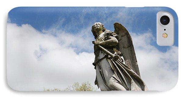 Winged Angel IPhone Case by Jennifer Ancker