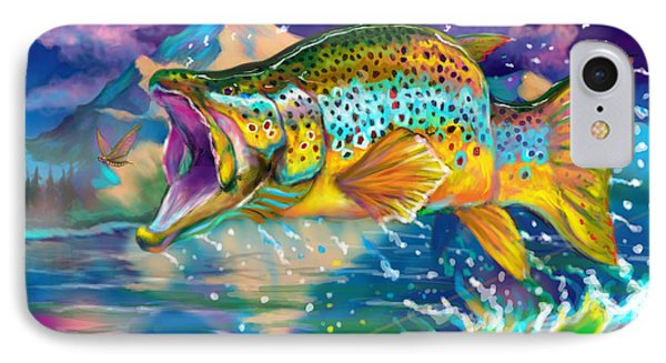 Wings And Fins  IPhone 7 Case by Yusniel Santos