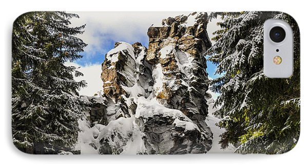 Winter At The Stony Summit Phone Case by Aged Pixel