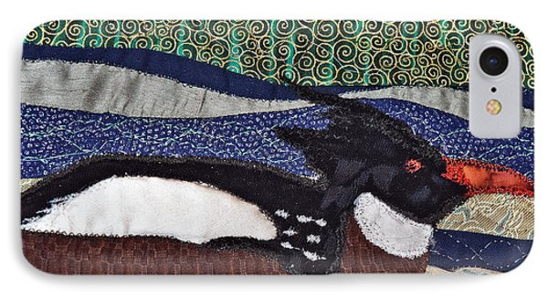 Winter Bird Phone Case by Susan Macomson
