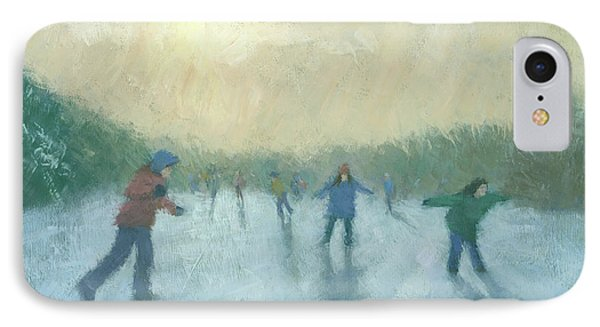 Winter Games IPhone Case by Steve Mitchell