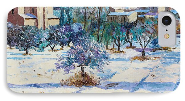 Winter In Lourmarin IPhone Case by Jean-Marc Janiaczyk