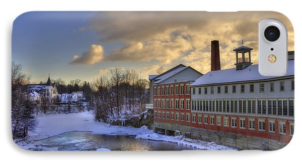 Winter In Milford New Hampshire IPhone Case by Joann Vitali