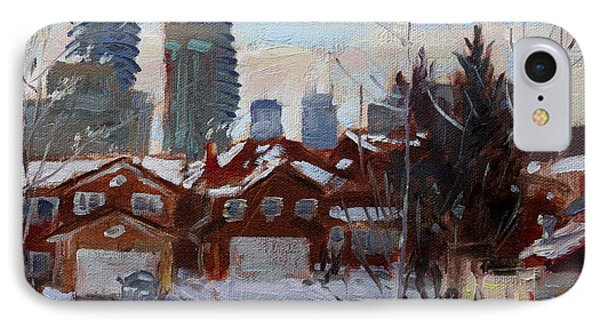 Winter In Mississauga  IPhone Case by Ylli Haruni