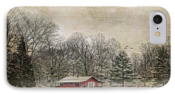 Winter Lake Phone Case by Darren Fisher