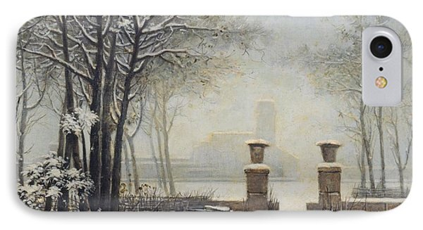 Winter Landscape Phone Case by Alessandro Guardassoni
