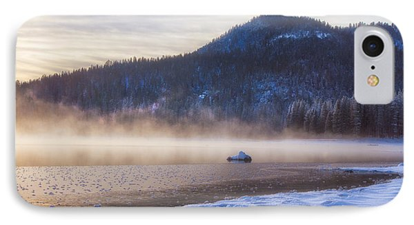 Winter Mist IPhone Case by Anthony Bonafede
