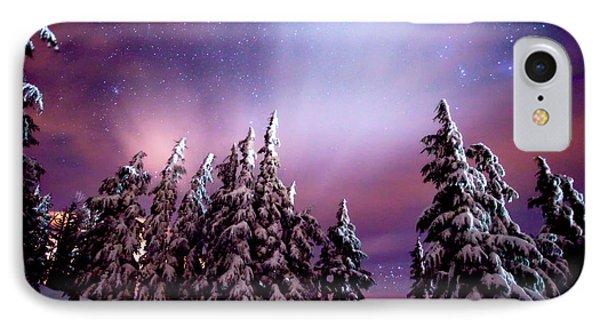 Winter Nights IPhone Case by Darren  White