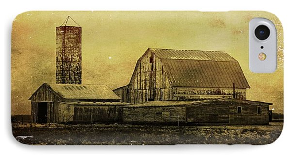 Winter On The Farm IPhone Case by Dan Sproul