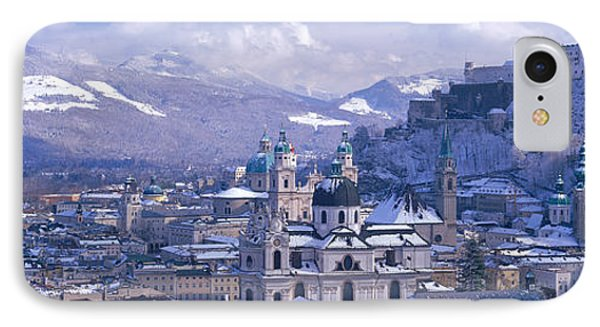 Winter, Salzburg, Austria IPhone Case by Panoramic Images