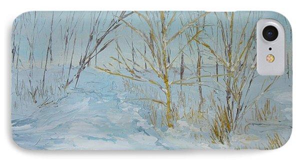 Winter Scene IPhone Case by Dwayne Gresham