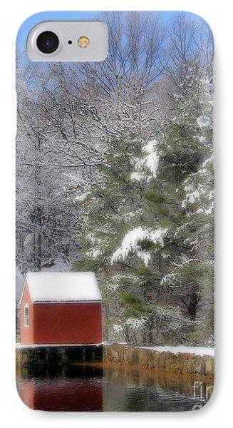 Winter Scene  Phone Case by Karol Livote