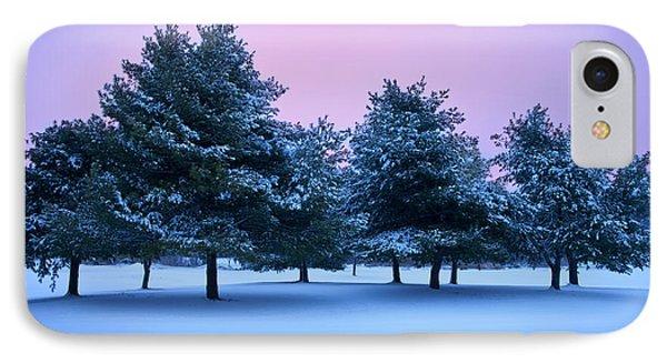 Winter Trees Phone Case by Brian Jannsen