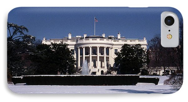 Winter White House  IPhone 7 Case by Skip Willits