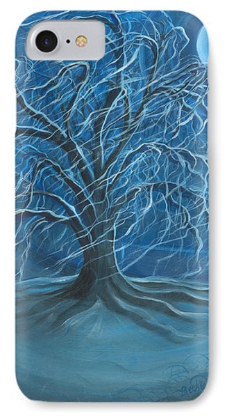Winter Willow IPhone Case by Beckie J Neff