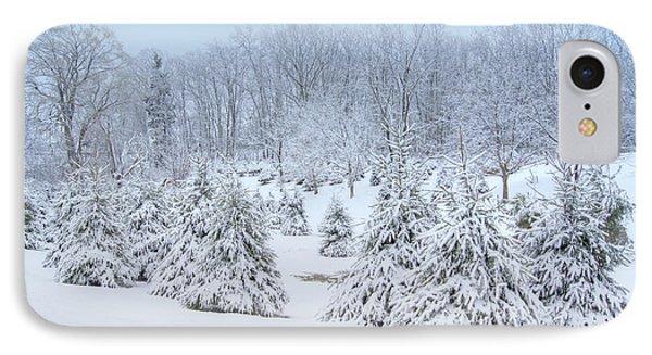 Winter Wonderland In West Virginia IPhone Case by Benanne Stiens