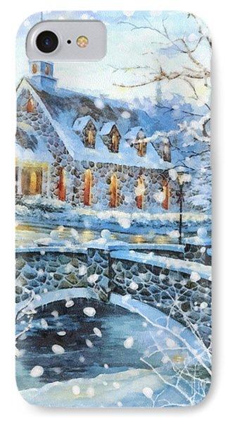 Winter Wonderland Phone Case by Mo T