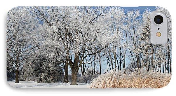 Winter Wonderland Phone Case by Robyn Saunders
