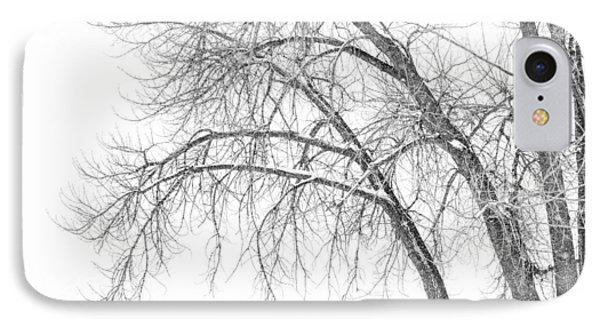 Winter's Weight IPhone Case by Darren  White