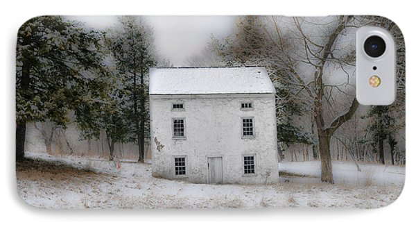 Wintertime In Valley Forge IPhone Case by Bill Cannon
