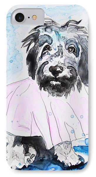 Wipe Your Paws IPhone Case by Shaina Stinard