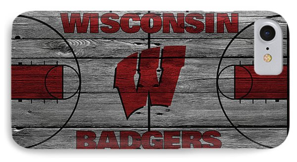 Wisconsin Badger IPhone Case by Joe Hamilton