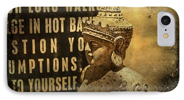 Wise Advisor IPhone Case by Terry Rowe