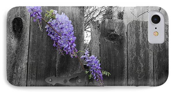 Wisteria IPhone Case by Dylan Punke