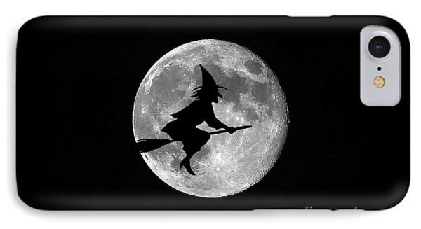 Witchy Moon IPhone Case by Al Powell Photography USA