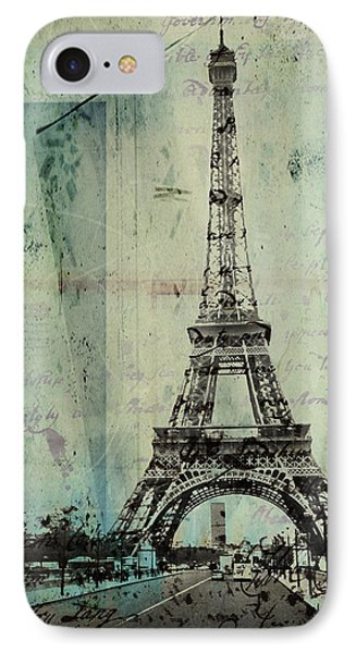 With Love From Paris  IPhone Case by Steven  Taylor