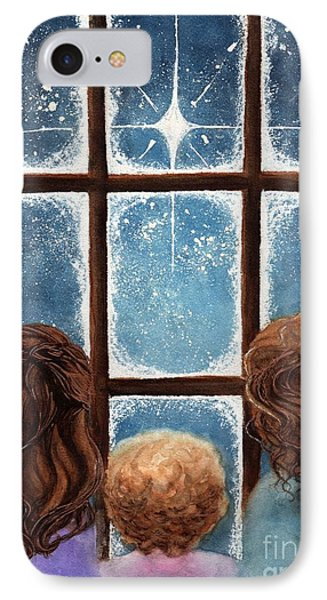 Wonder Of The Night Phone Case by Janine Riley