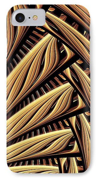 Wood Weaving IPhone Case by Anastasiya Malakhova