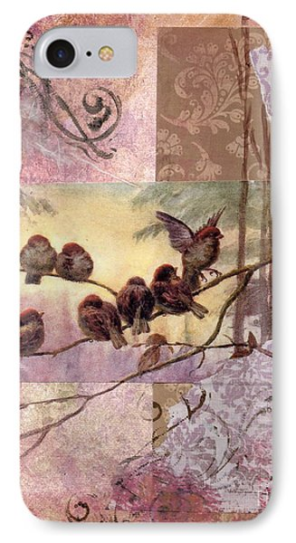 Woodland Flight Phone Case by Tamyra Crossley