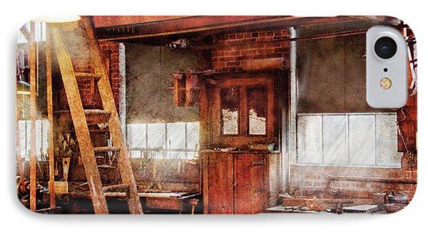 Woodworker - Old Workshop Phone Case by Mike Savad