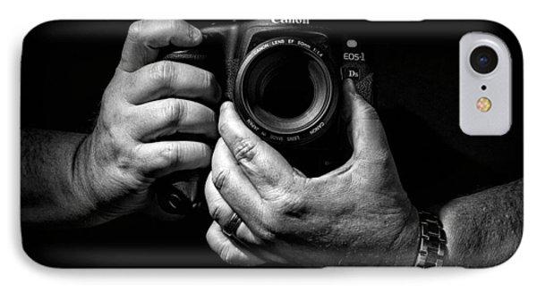 Working Hands Phone Case by Jeff Burton