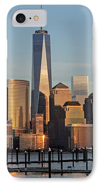 World Trade Center Freedom Tower Nyc IPhone Case by Susan Candelario