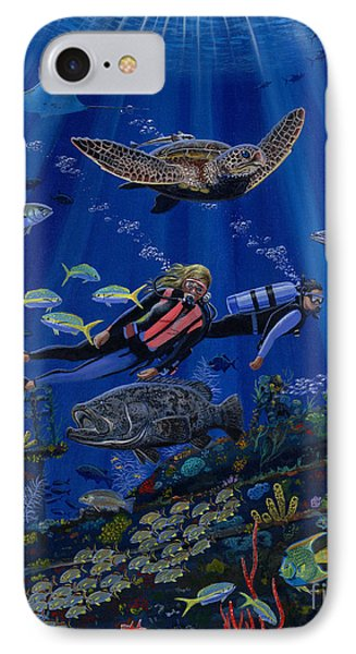 Wreck Divers Re0014 IPhone Case by Carey Chen