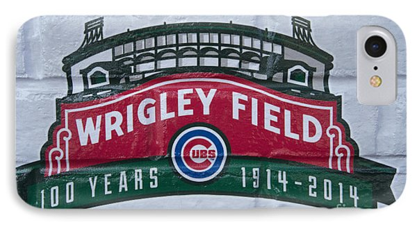 Wrigley Field At 100 IPhone Case by David Bearden