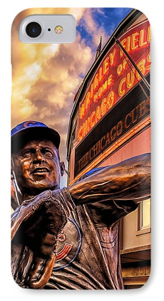 Wrigley Field Legend IPhone Case by Anthony Citro