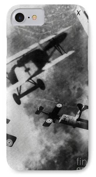 Wwi German British Dogfight Phone Case by Nypl