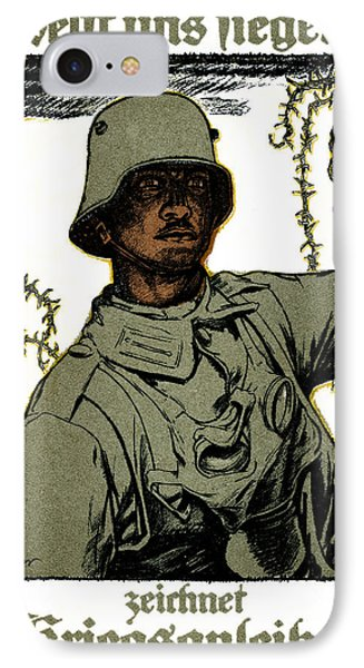 Wwi German War Bond Poster Phone Case by Historic Image