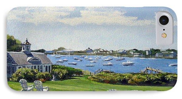 Wychmere Harbor Harwich Port Massachusetts Cape Cod Massachusetts IPhone Case by Christine Hopkins
