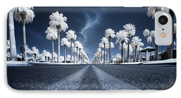 X IPhone Case by Sean Foster