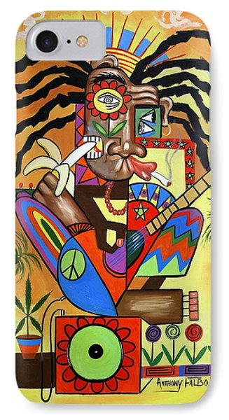 Ya Mon 2 No Steal Drums Phone Case by Anthony Falbo