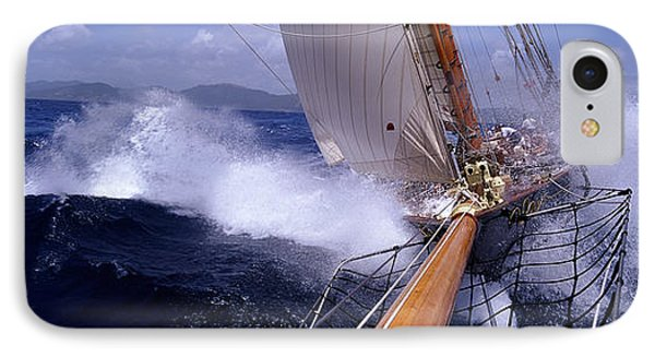 Yacht Race, Caribbean IPhone Case by Panoramic Images