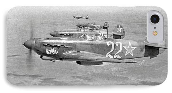 Yakovlev Yak-9 Fighters, 1942 IPhone Case by Ria Novosti
